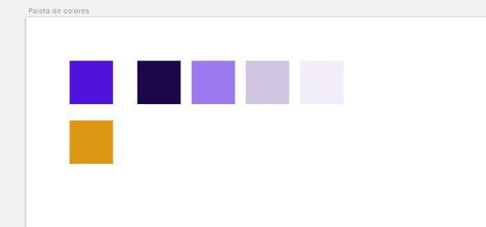 Paleta color - Acento