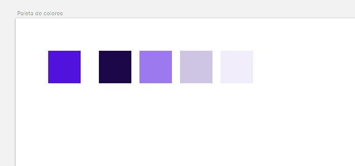 Paleta color - Principal