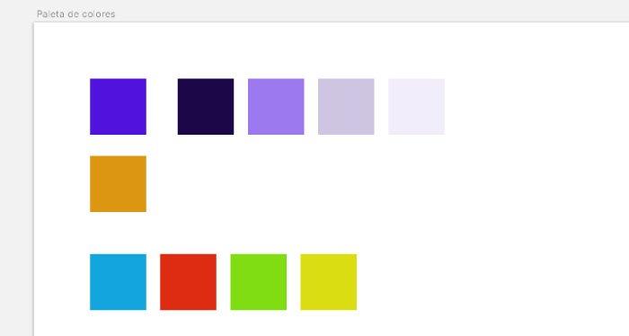 Paleta color - Semánticos