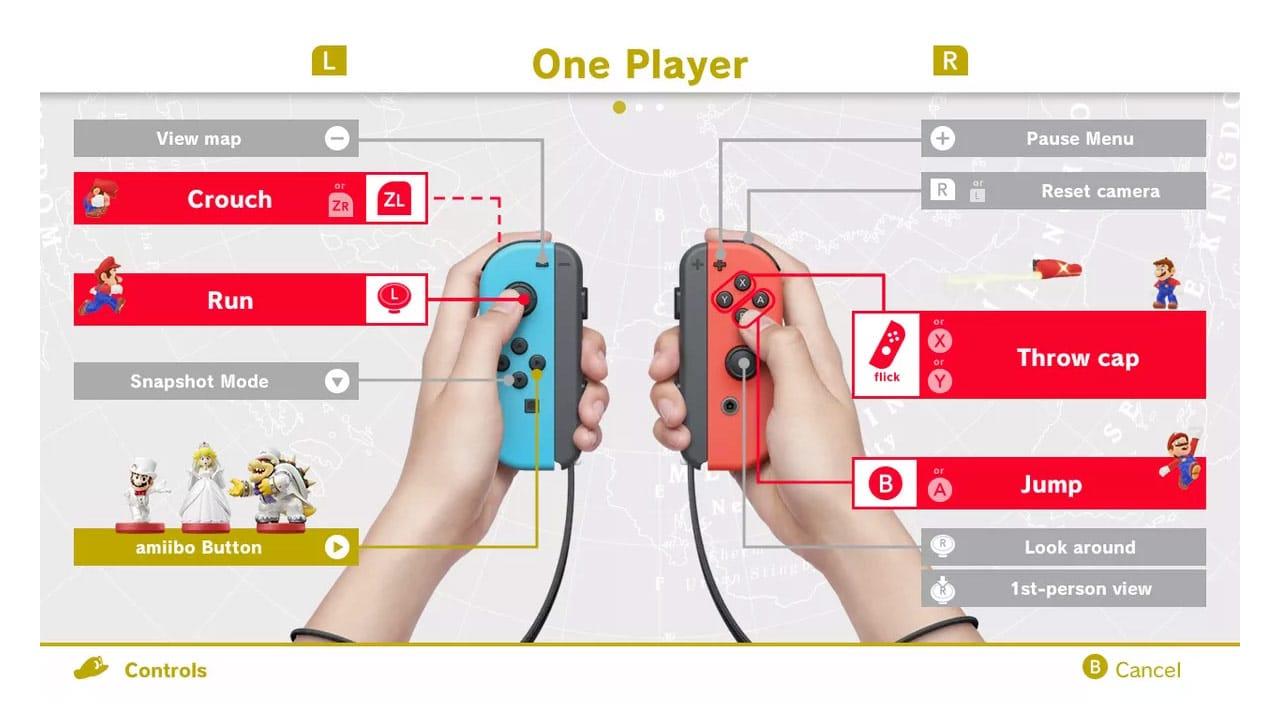 Ley de Hick - Super Mario Odyssey