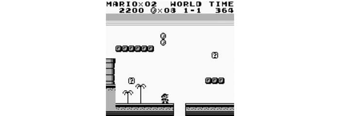 Ley de Hick - Super Mario Game Boy