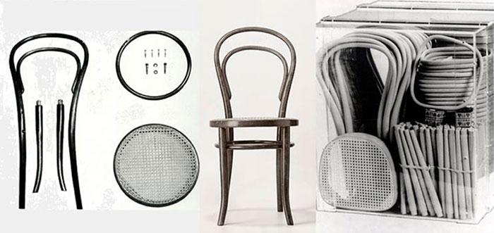 Silla Thonet - Diseño optimizado