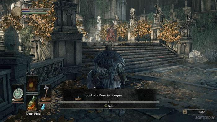 Interfaz Dark Souls 3