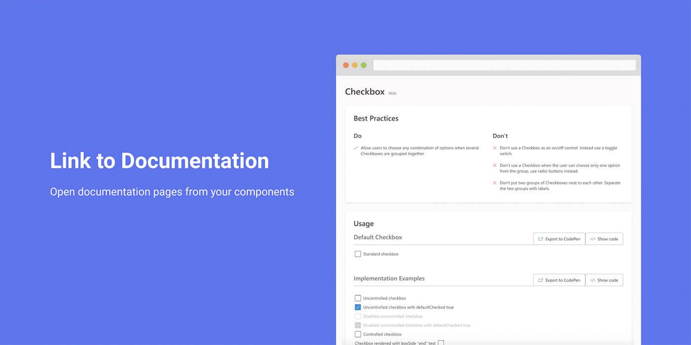 Link to Documentation para Figma