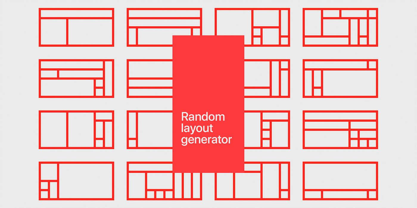 Random Layout Generator para Figma