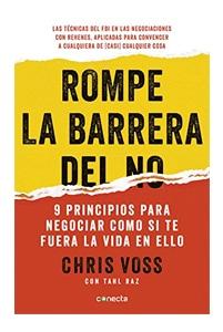 Rompe la barrera del NO de Chris Voss