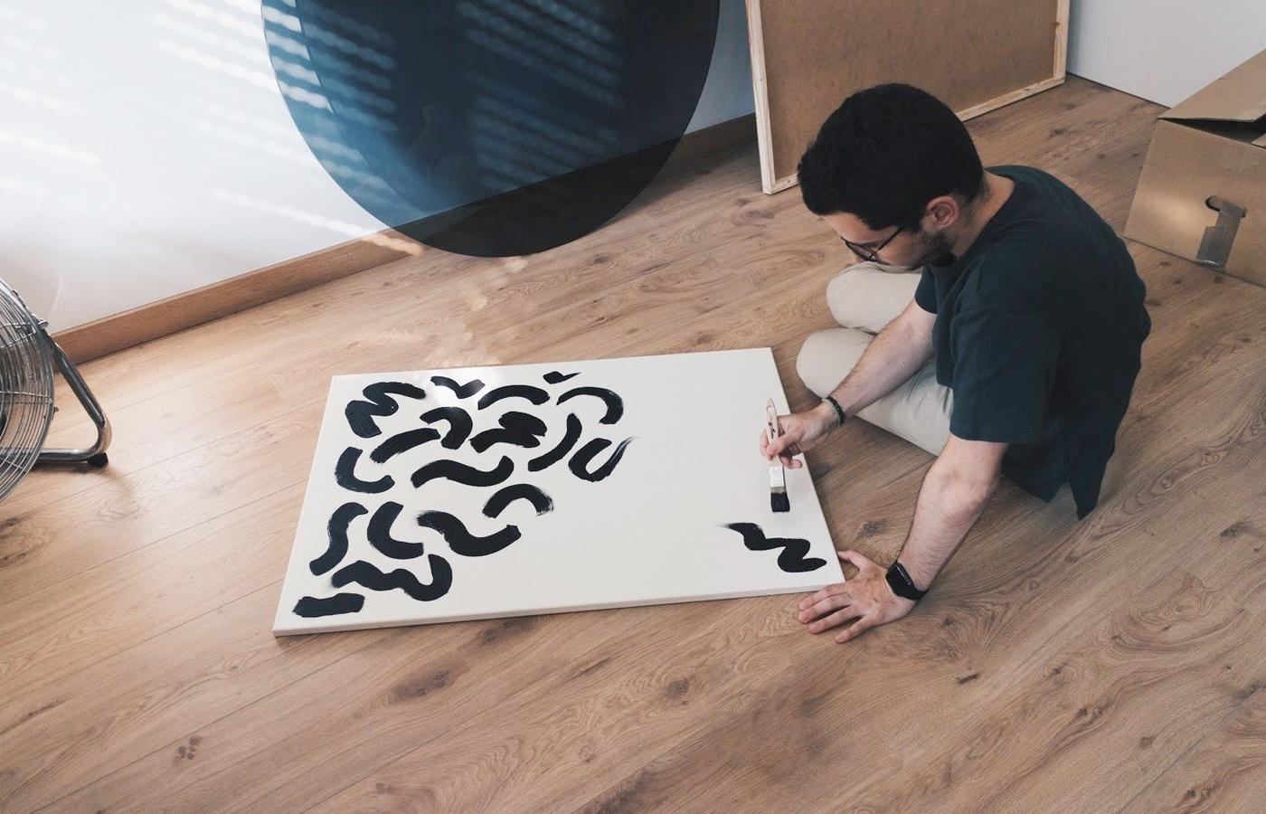 Entrevista Nil Castellví - Arte y pintar