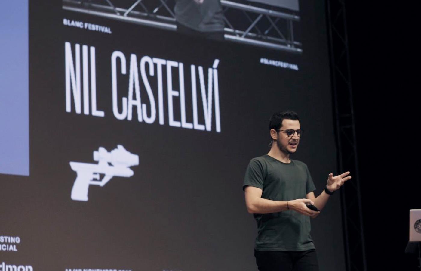 Nil Castellví en el Blanc Festival