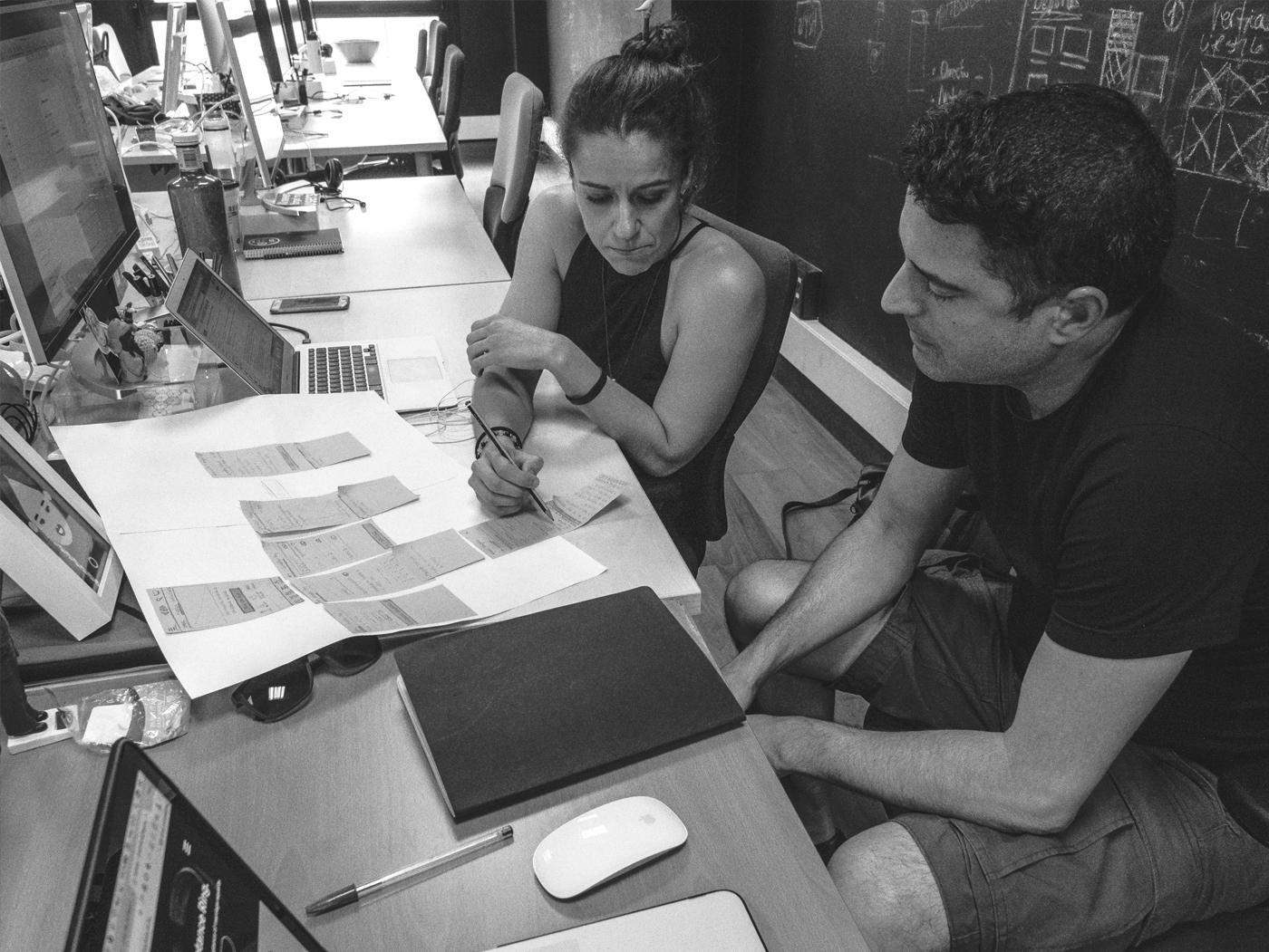 Trabajo de conceptualización junto a JL Rubiales en Secuoyas